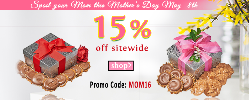 15% OFF Sitewide Mother's Day Sale!