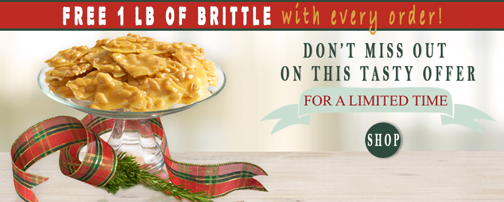 Free Brittle with any purchase