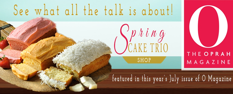 Oprah Loves Our Spring Cake Trio!