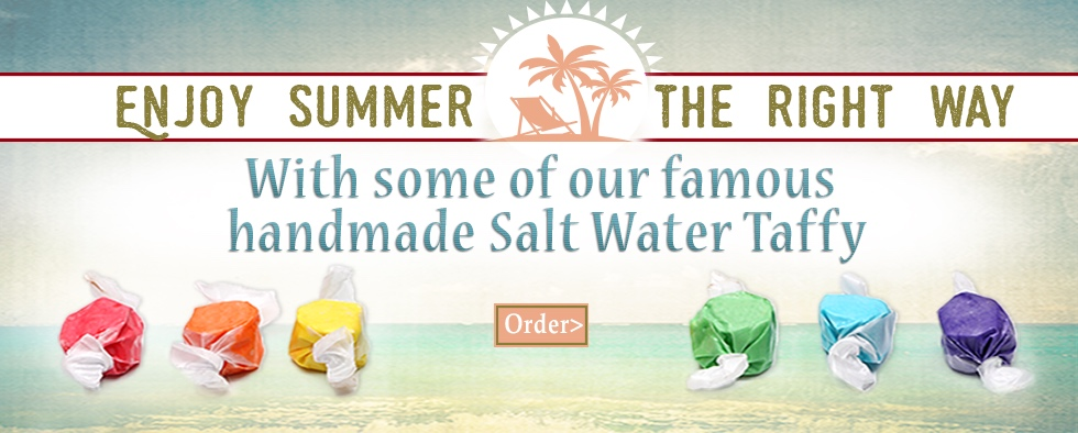Saltwater Taffy for Summer!