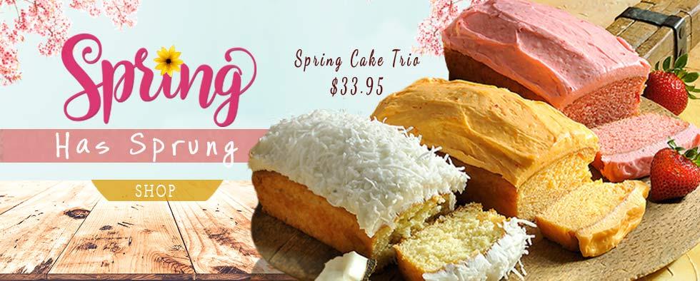Spring Cake Trio
