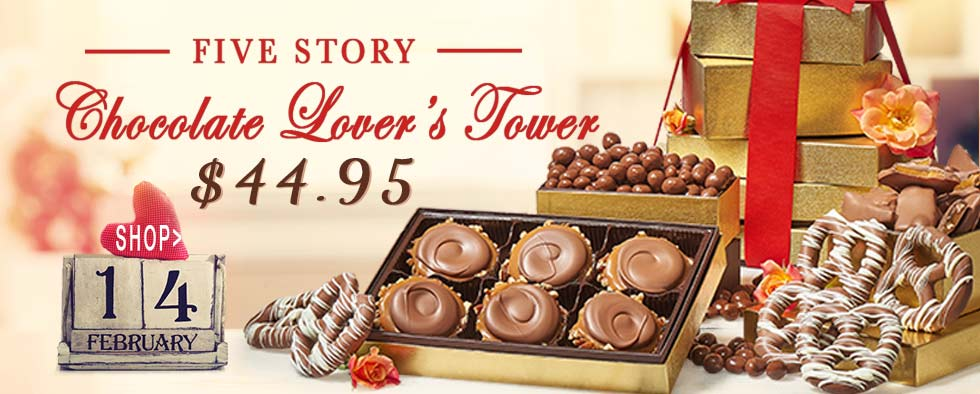 5 Story Chocolate Lover's Tower