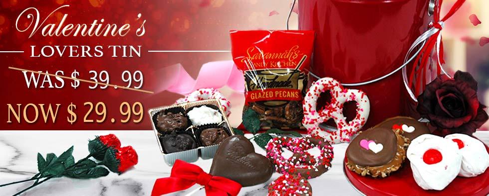 Valentine's Lovers Tin