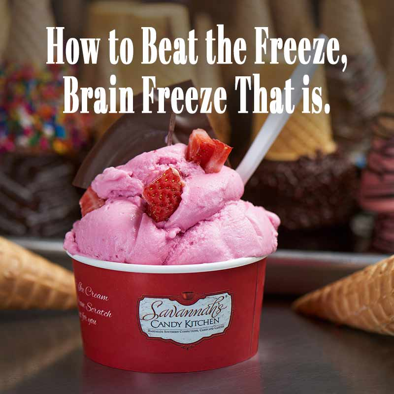 How to Prevent (or Stop!) Brain Freeze.