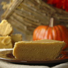Pumpkin Fudge in a Pie Shell