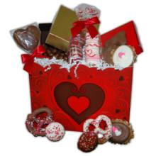 Valentine Red Gift Box