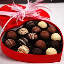 Valentine Truffle Heart Box