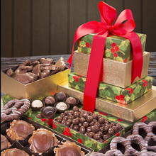 5 Story Chocolate Lover's Gift Tower