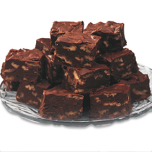 No Sugar Added Chocolate Fudge - No Sugar Added Fudge (w.Walnuts)