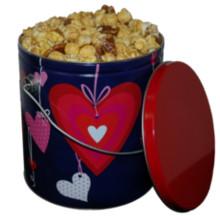 Caramel Corn Valentine Tin